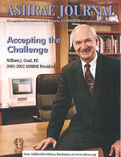 William J. Coad – 2001–2002