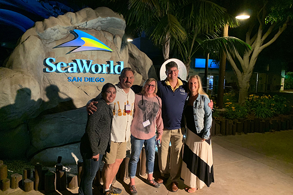Region X and IX Sea World Visit, image 2 - Joint CRC