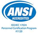 ANSI Accredited Logo