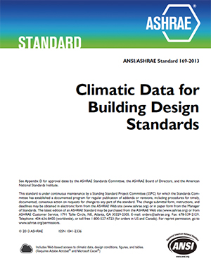 Ashrae climate data center for Indoor design temperature ashrae