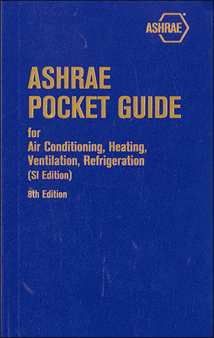 ASHRAE Pocket Guide for Air-Conditioning, Heating