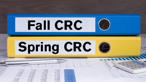 Fall and Spring CRC Motion Status