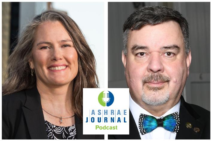 ASHRAE Journal Podcast Season 1 Episode 3 Guests